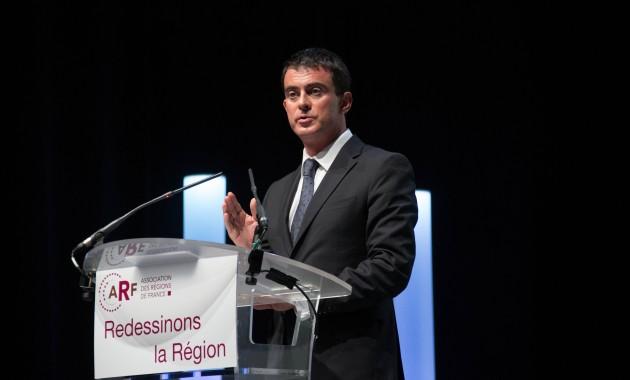 Manuels Valls au congrès de l'ARF