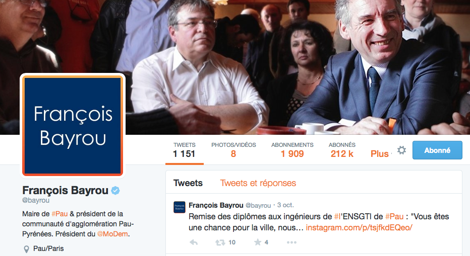 francois bayrou twitter