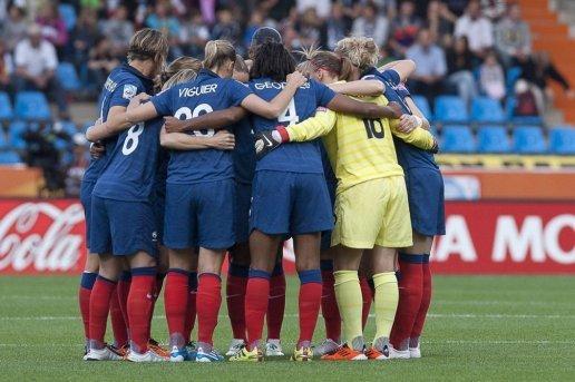 Equipe de football féminin