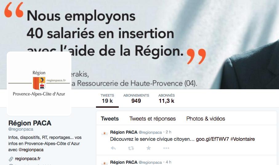 region paca twitter
