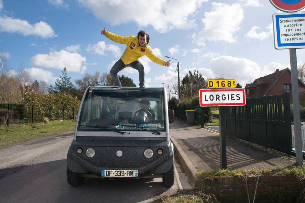 Clément Leroy à Lorgies - Crédit : Clément Leroy