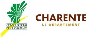 Evolution du logo de la Charente