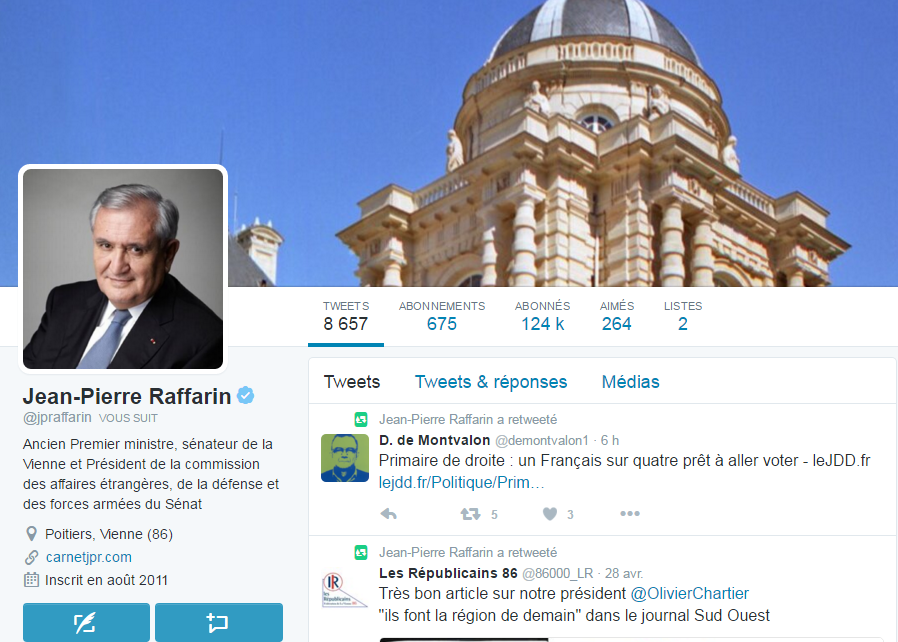 raffarin twitter