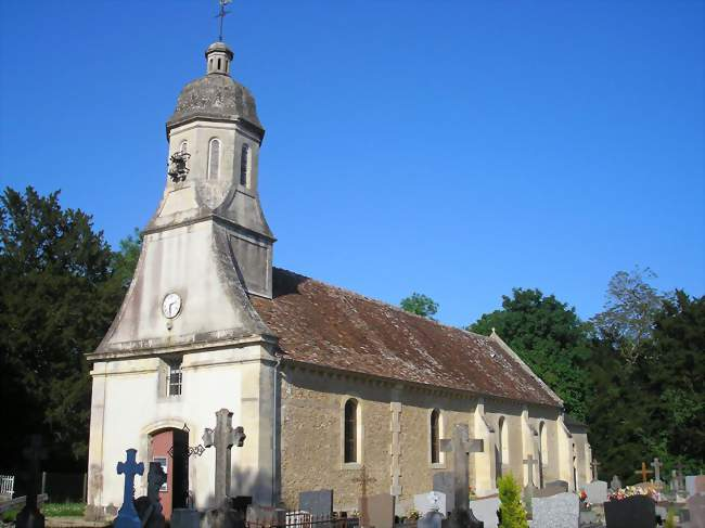 L'église Saint-Jean-Baptiste - Canteloup (14370) - Calvados