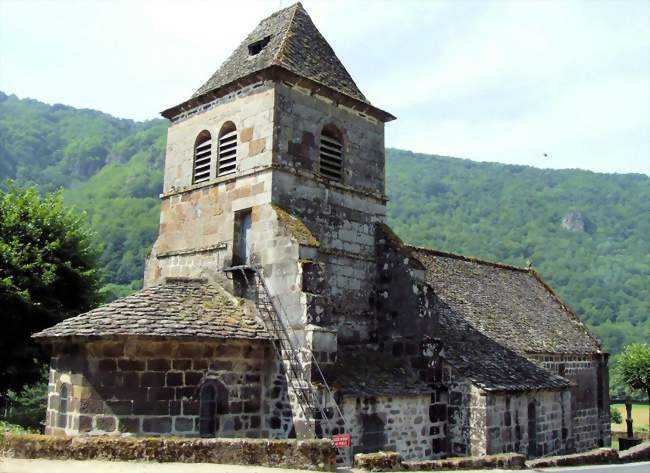 559bbbdfdb1 Église Saint-Vincent - Saint-Vincent-de-Salers (15380) -