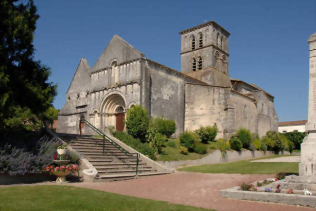 Eglise Saint Martin d'Arthenac