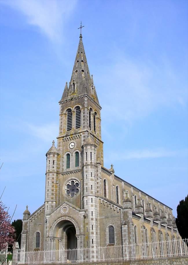 L'église paroissiale - Barenton (50720) - Manche