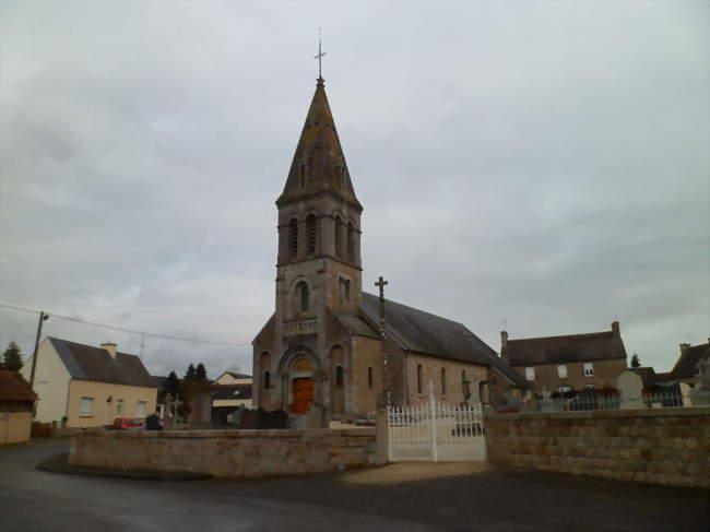 Église Saint-Pierre de Bion - Bion (50140) - Manche