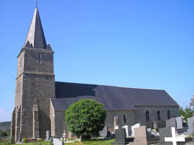 L'église Saint-Nicolas - Placy-Montaigu (50160) - Manche