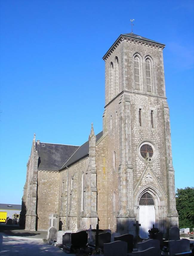 L'église Saint-Clément - Saint-Clément-Rancoudray (50140) - Manche