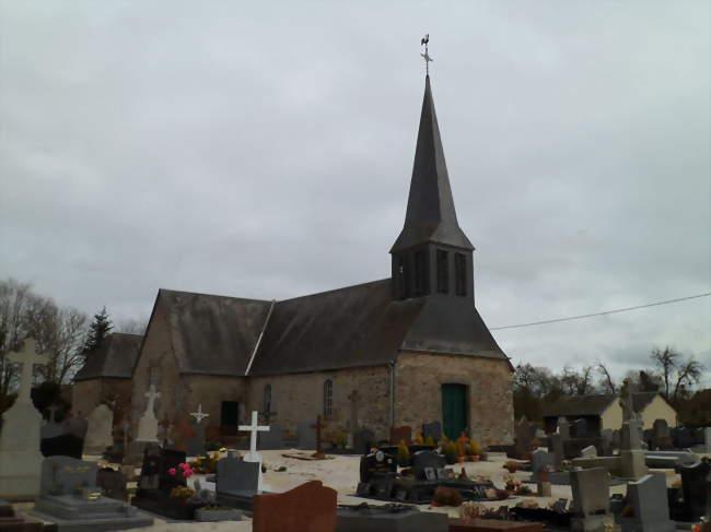L'église Saint-Jean-Baptiste - Saint-Jean-du-Corail (50140) - Manche