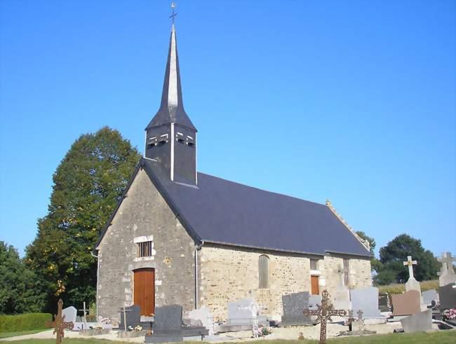 L'église Notre-Dame - Sainte-Marie-du-Bois (50640) - Manche