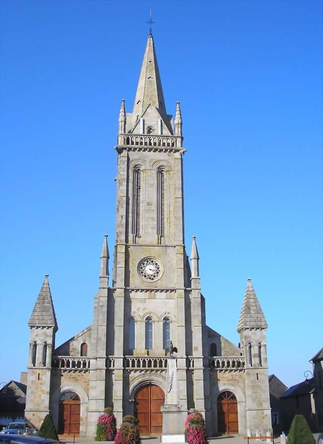 L'église Saint-Patrice - Le Teilleul (50640) - Manche