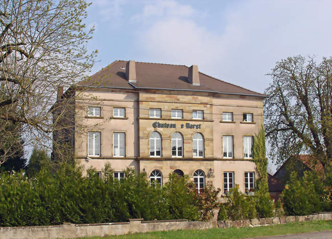 Château de Barst (Moselle) - Barst (57450) - Moselle