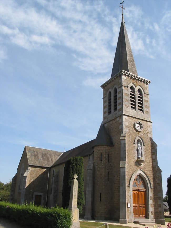 L'église Saint-Martin - Avrilly (61700) - Orne
