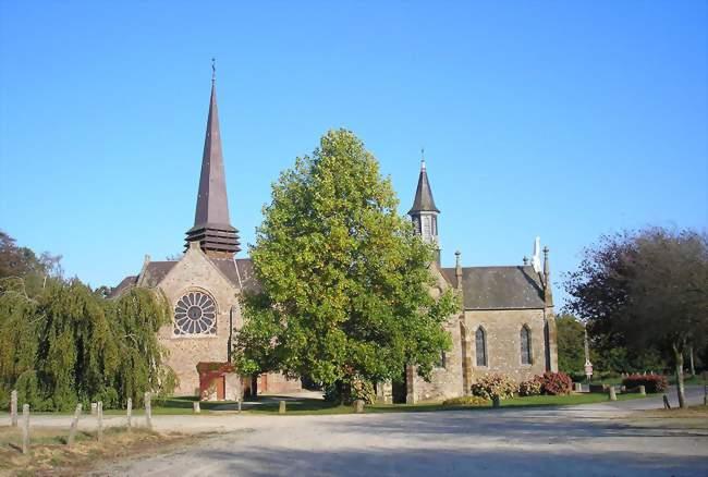 Les deux chapelles Notre-Dame-de-l'Oratoire - Passais (61350) - Orne