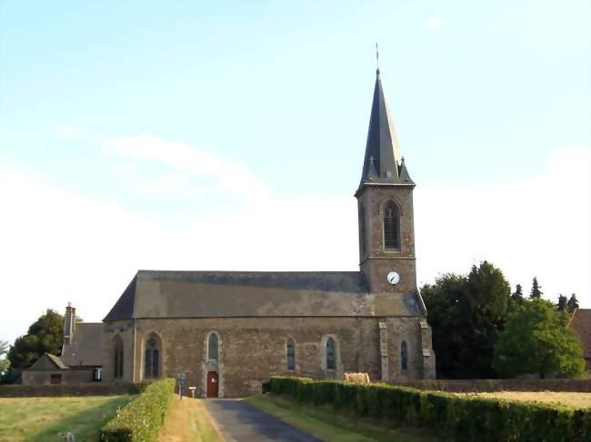 L'église Notre-Dame - Yvrandes (61800) - Orne
