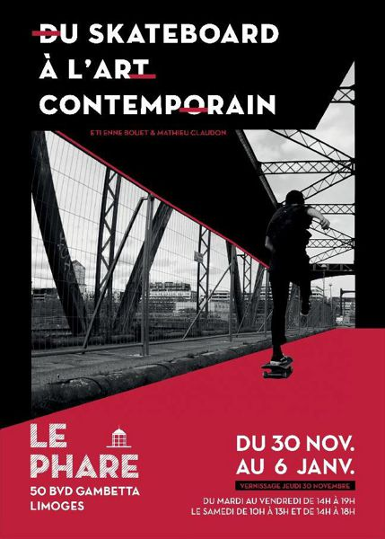 Du skateboard à l'art contemporain