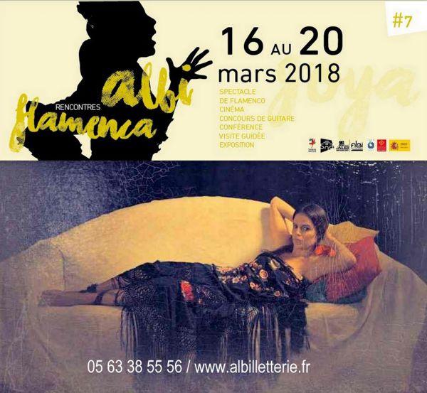 Rencontres Albi Flamenca / concours d'éventails