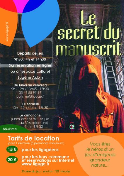 Jeu du Secret du Manuscrit