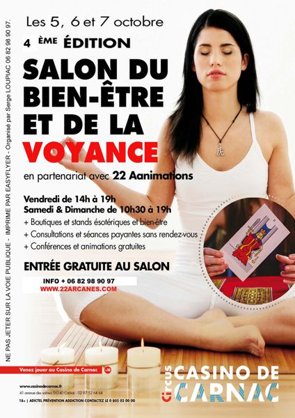 5c97742cb447ba 4ème Salon de la voyance et du bien - être de CARNAC-2018 - Carnac ...
