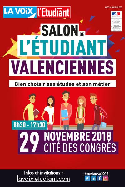 """Résultat de recherche d'images pour """"salon etudiant valenciennes 28 novembre 2019"""""""