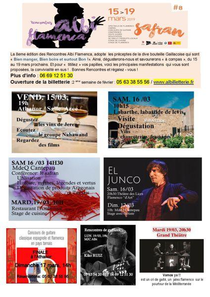 Les Rencontres Albi Flamenca promettent une 8e édition rythmée - cycle-peche-chasse-chalus.fr