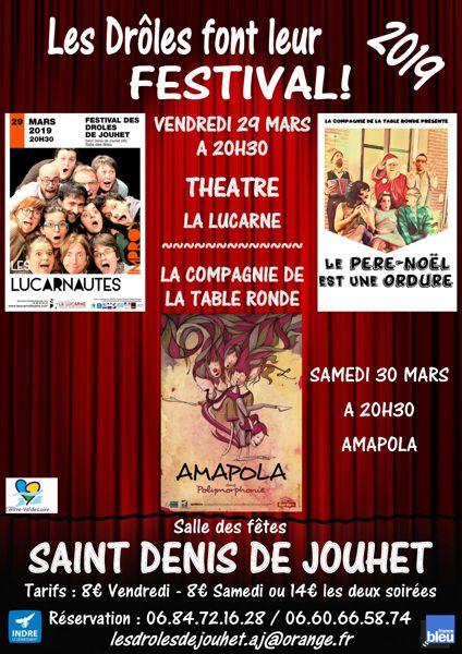 Festival Des Droles De Jouhet Saint Denis De Jouhet 36230