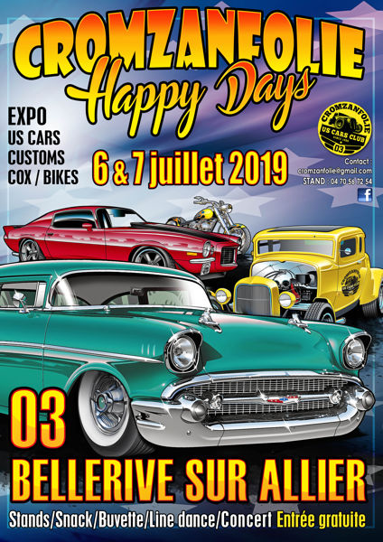 Cromzanfolie Happy Days 2019