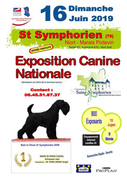 EXPOSITION CANINE NATIONALE