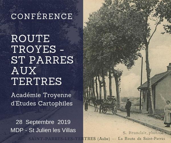 En remontant la nationale 19 de Troyes à Saint-Parres-aux-Tertres