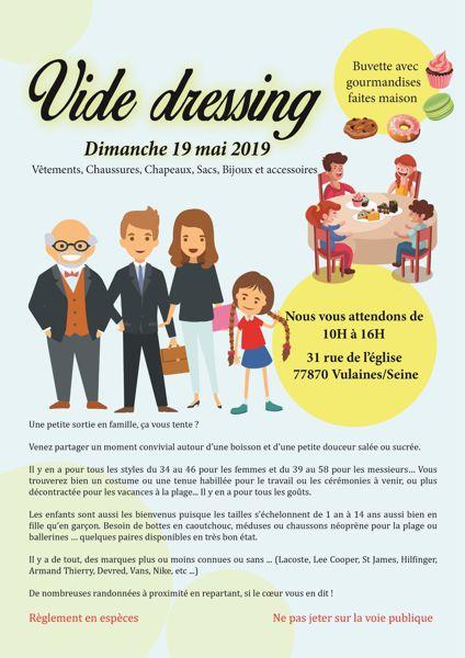 obtenir de nouveaux Réduction meilleur prix pour VIDE DRESSING Adultes/Enfants avec BUVETTE - Vulaines-sur ...