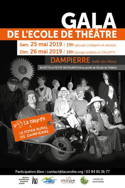 Gala De L Ecole De Theatre De Dampierre Dampierre 39700 Theatre