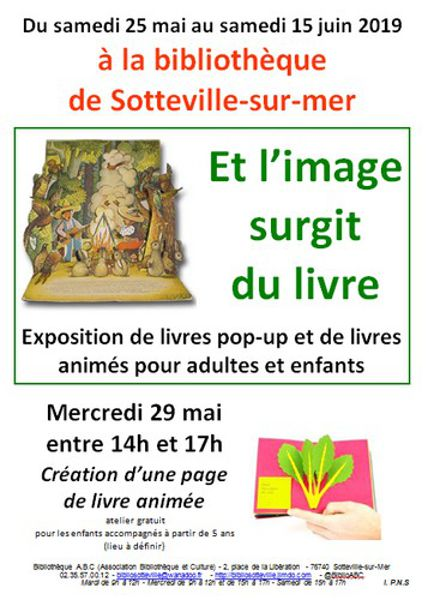 Et L Image Surgit Du Livre Sotteville Sur Mer 76740