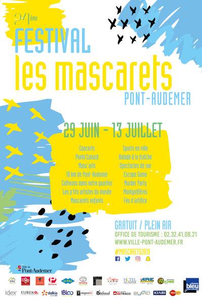 Festival Les Mascarets Pont Audemer 27500 Exposition