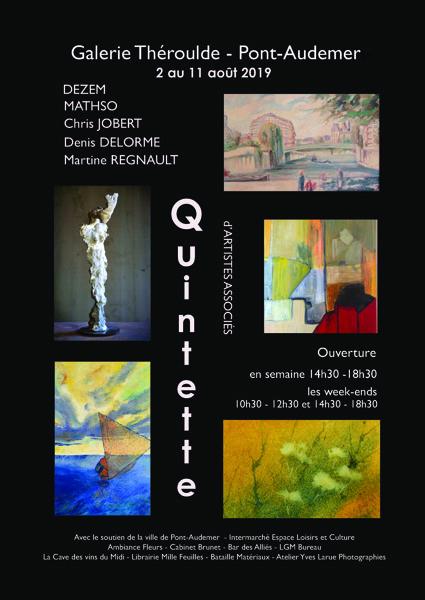 Exposition Peinture Sculpture Galerie Theroulde Pont