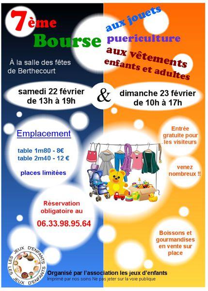 Bourse aux jouets 2017   Clermont (Oise) vous donne rendez vous