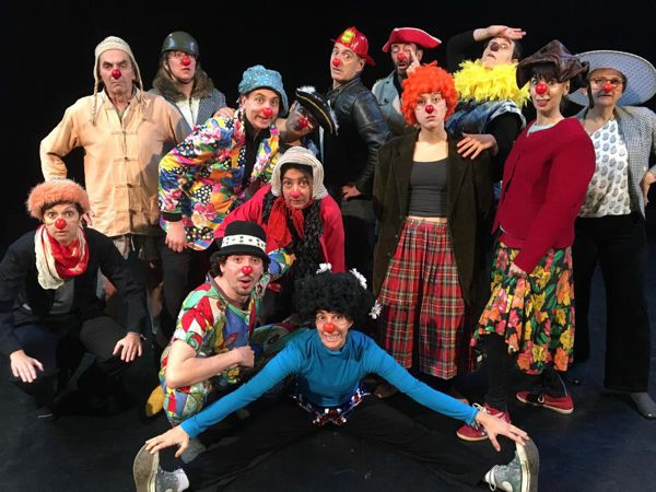 STAGE CLOWN DE THEATRE