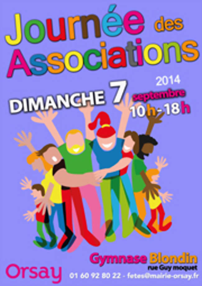 Journ e des associations orsay 91400 foire salon - Journee des associations salon de provence ...