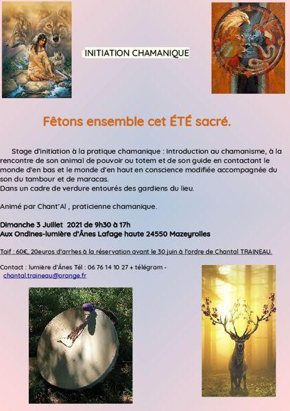 12ème rencontre chamanique de printemps : Fonroque - Dordogne - Salons