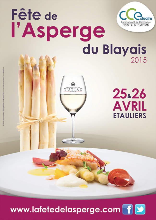 La f te de l 39 asperge du blayais tauliers 33820 foire salon 1 atelier march - Culture de l asperge ...
