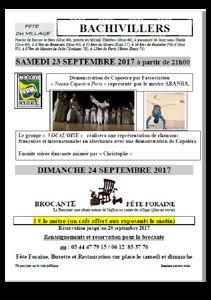 FETE DU VILLAGE : fête foraine et Brocante