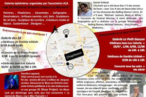 Expositions ARTS &ARTISANAT (A2A) JAZZ IN MARCIAC