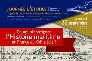 Journée d'étude de la Société Française d'Histoire Maritime