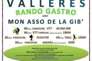 Randonnée Gourmande Pédestre/Trail/VTT 3ème édition