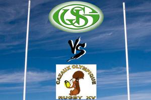 Match US Galgon Rugby - Cazaux Olympique