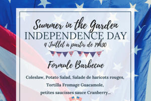 Summer in the Garden - Independence Day