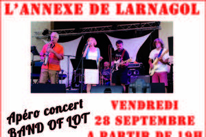 Apéro concert avec Band of the LOT