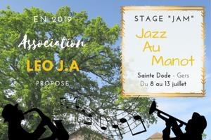 Stage Jazz au Manot JaM