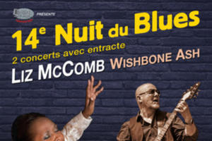 Liz McComb - Wishbone Ash à Nuit du Blues Carpentras
